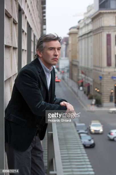 Actor Steve Coogan is photographed for Self Assignment on February 11 2017 in Berlin Germany
