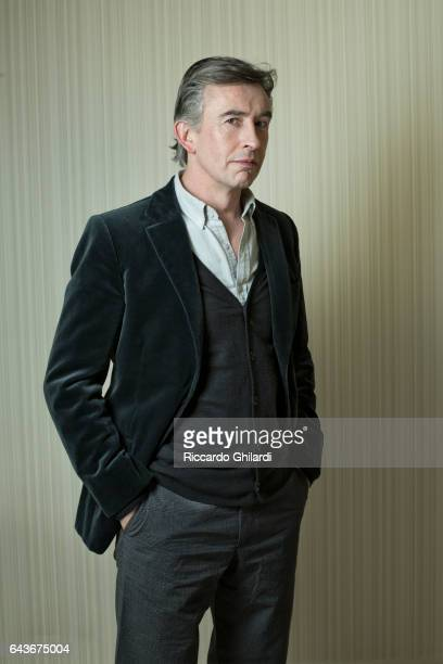 Actor Steve Coogan is photographed for Self Assignment on February 14 2017 in Berlin Germany