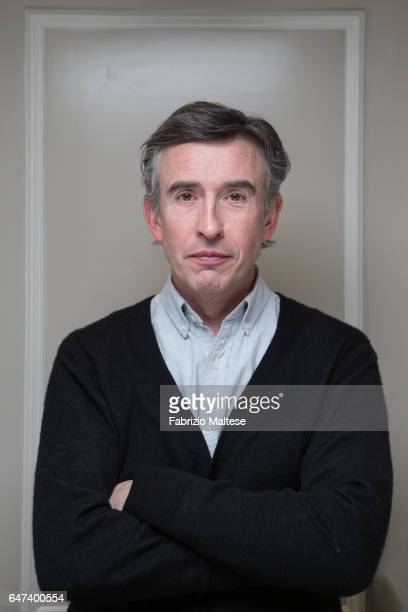 Actor Steve Coogan is photographed for The Hollywood Reporter on February 13 2017 in Berlin Germany