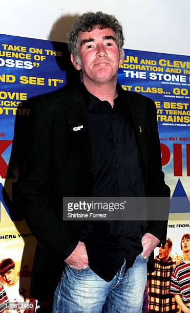 Actor Steve Evets attends the UK Premiere of 'Spike Island' at Manchester Cornerhouse on June 18 2013 in Manchester England