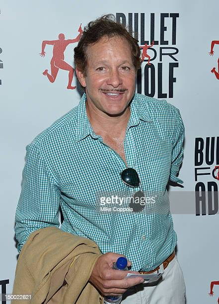 Actor Steve Guttenberg attends Bullet For Adolf Off Broadway Opening Night at New World Stages on August 8 2012 in New York City
