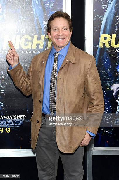 Actor Steve Guttenberg attends the Run All Night New York Premiere at AMC Lincoln Square Theater on March 9 2015 in New York City