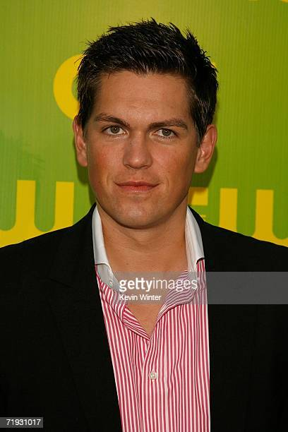 Actor Steve Howey arrives at the CW Launch Party at the Warner Bros Studio on September 18 2006 in Burbank California