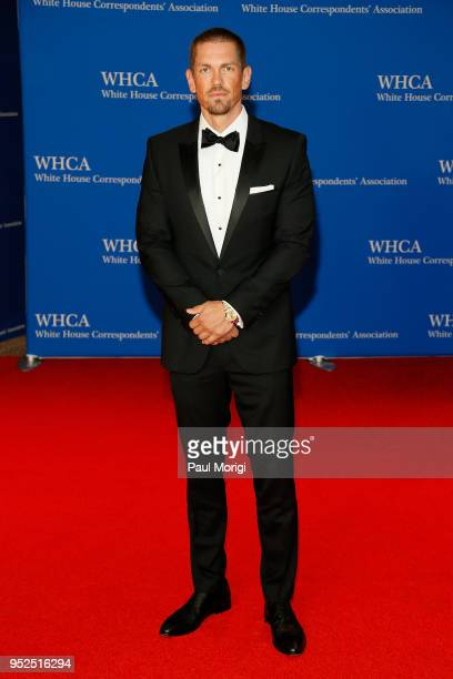 Actor Steve Howey attends the 2018 White House Correspondents' Dinner at Washington Hilton on April 28 2018 in Washington DC