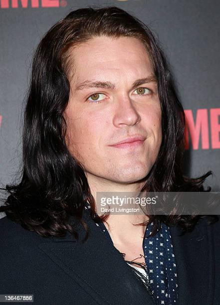 Actor Steve Howey attends the premiere reception for Showtime's Shameless Season 2 at Haus Los Angeles on January 5 2012 in Los Angeles California