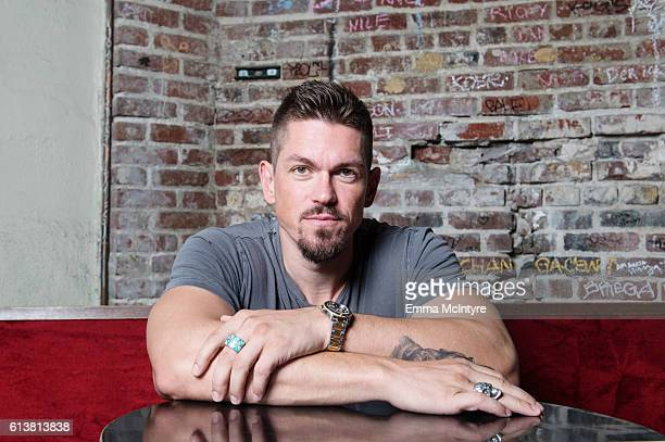 Actor Steve Howey is photographed for The Wrap at Angel City Brewery on October 7 2016 in Los Angeles California