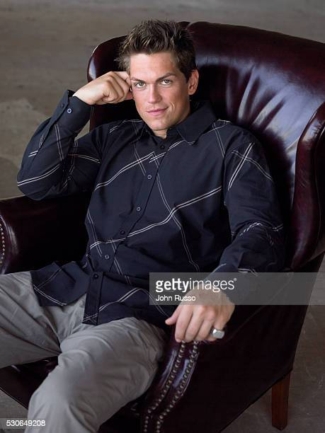 Actor Steve Howey is photographed in 2005