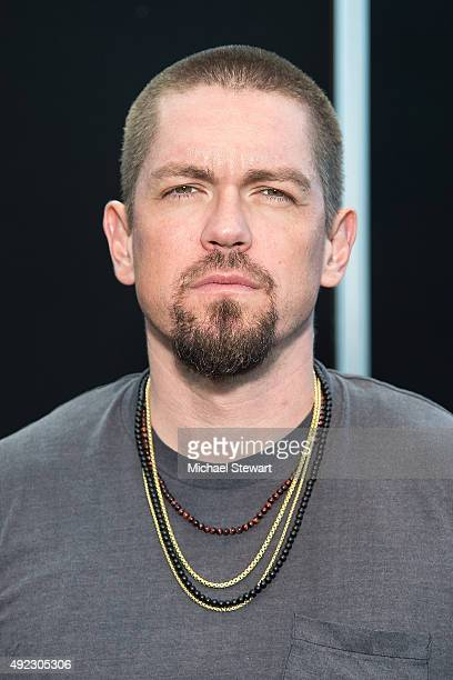Actor Steve Howey poses in the press room for the Person of Interest panel during ComicCon Day 4 at The Jacob K Javits Convention Center on October...