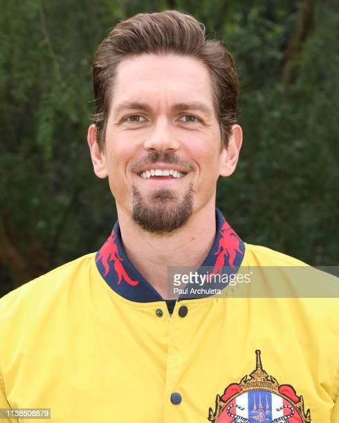 Actor Steve Howey visits Hallmark's Home Family at Universal Studios Hollywood on March 26 2019 in Universal City California