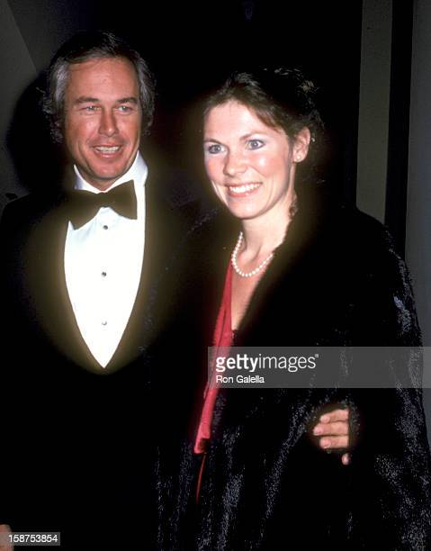Actor Steve Kanaly and wife Brent Power attend the 20th Annual International Broadcasting Awards on March 10 1980 at Century Plaza Hotel in Los...