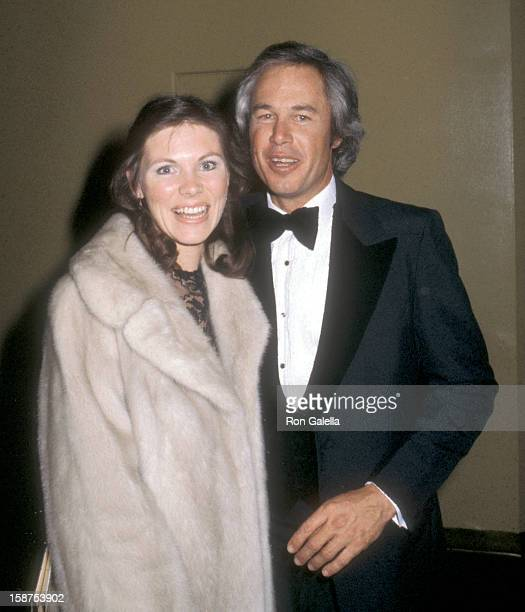Actor Steve Kanaly and wife Brent Power attend the Sixth Annual People's Choice Awards on January 24 1980 at Hollywood Palladium in Hollywood...