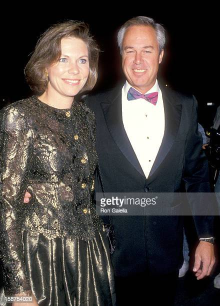Actor Steve Kanaly and wife Brent Power attend the Taping of the the Television Special Hosted by Variety Clubs International AllStar Party for Joan...