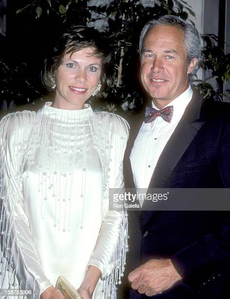 Actor Steve Kanaly and wife Brent Power attend the Third Annual American Cinema Awards on May 30 1986 at Beverly Wilshire Hotel in Beverly Hills...
