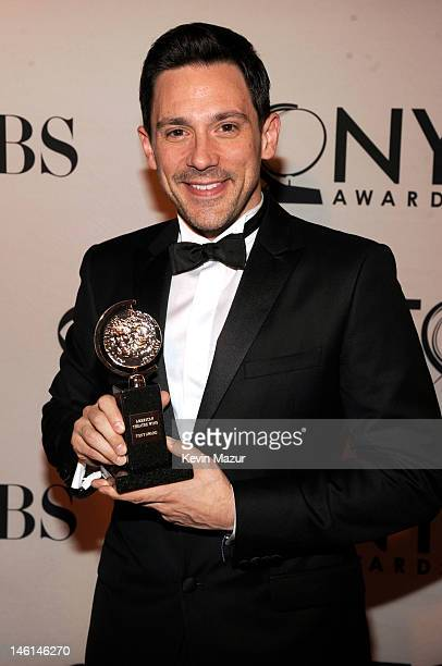 Actor Steve Kazee attends the 66th Annual Tony Awards at The Beacon Theatre on June 10 2012 in New York City