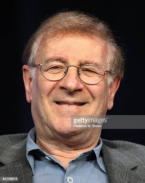 """Actor Steve Landesberg of the television show """"Head Case"""" speaks during the Starz Network portion of the 2009 Winter Television Critics Association..."""