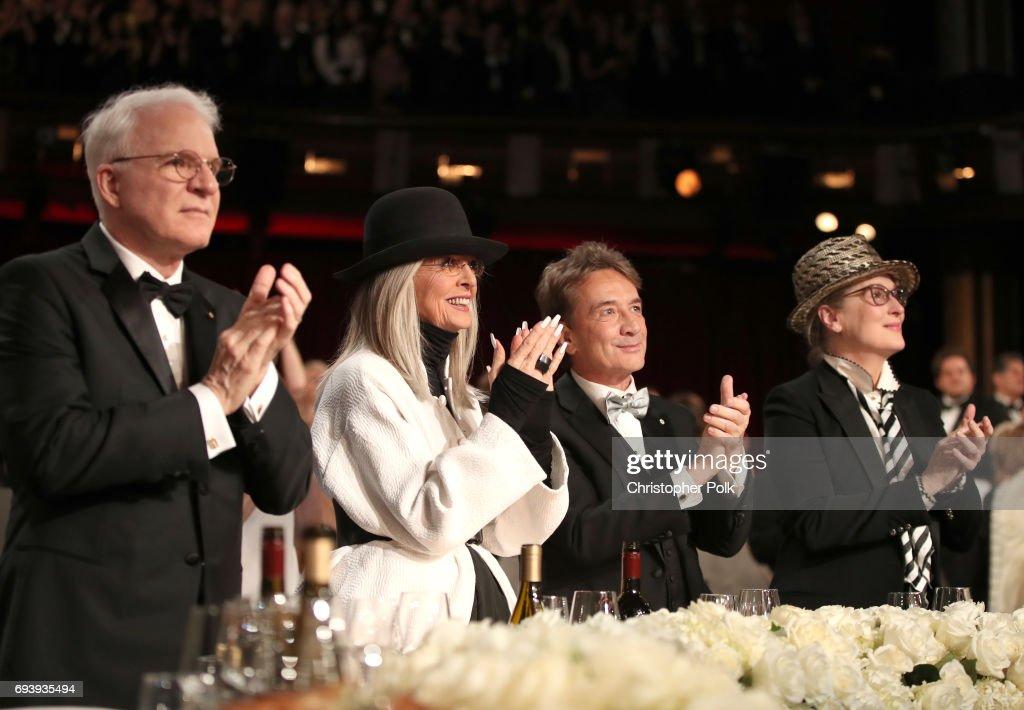 American Film Institute's 45th Life Achievement Award Gala Tribute to Diane Keaton - Roaming Show : News Photo