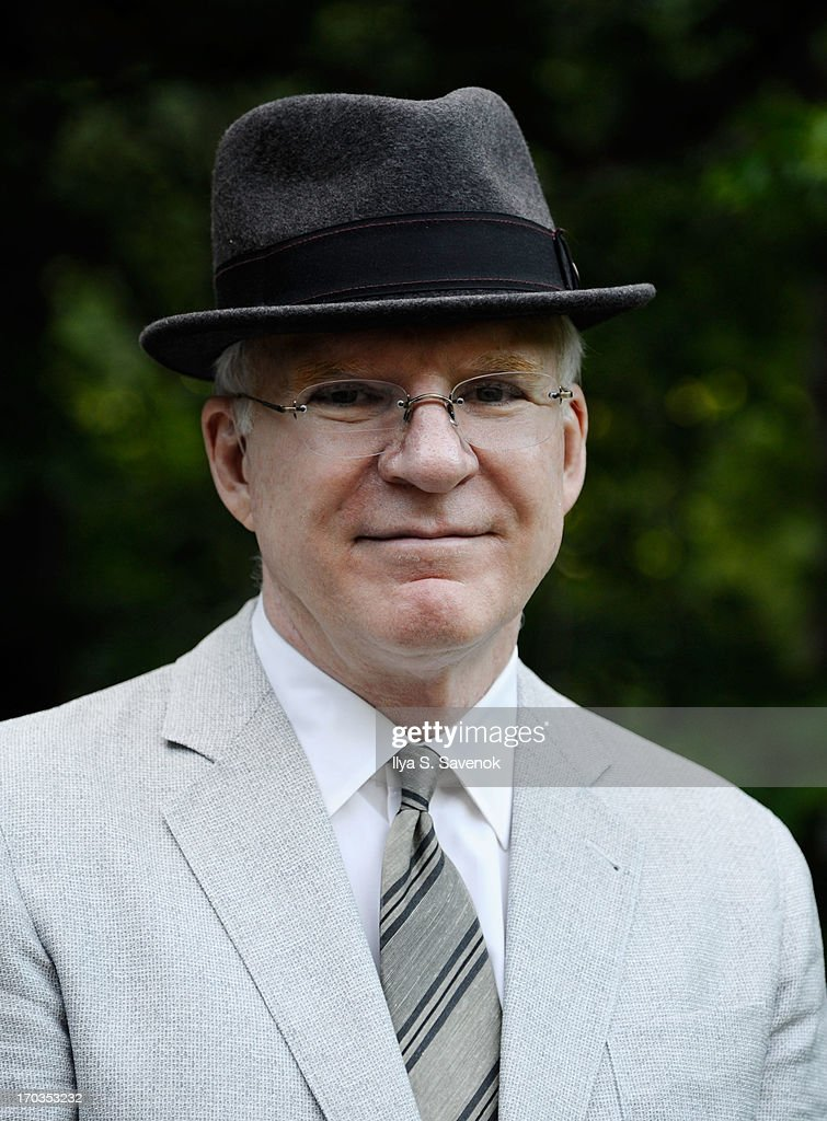 Actor Steve Martin attends Annual Public Theater Gala at Delacorte Theater on June 11, 2013 in New York City.