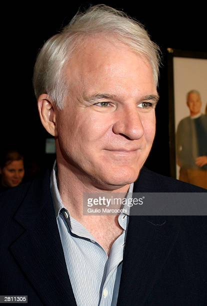 Actor Steve Martin attends the Cheaper By The Dozen Premiere on December 14 2003 in Hollywood California