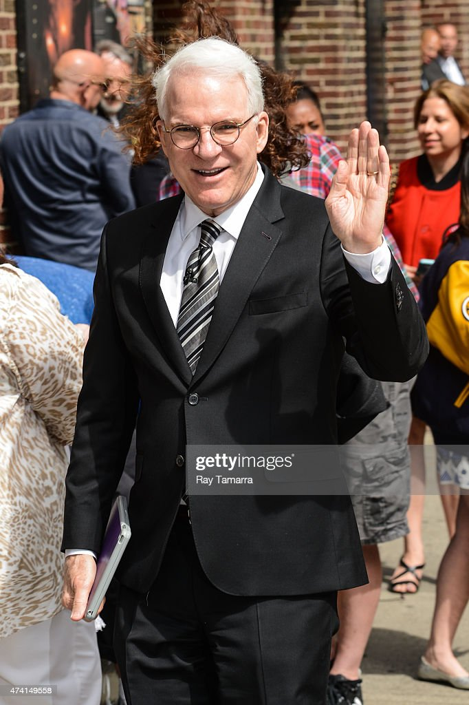 """Celebrities Visit """"Late Show With David Letterman"""" - May 20, 2015 : ニュース写真"""