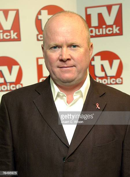 Actor Steve McFadden arrives for the TV Quick TV Choice awards at the Dorchester Hotel September 3 2007 in London England