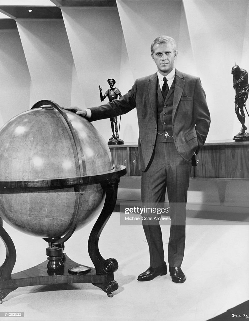 Actor Steve Mcqueen In A Scene From The Movie The Thomas Crown