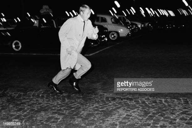 Actor Steve McQueen in Paris on September 17 1964 in Paris France