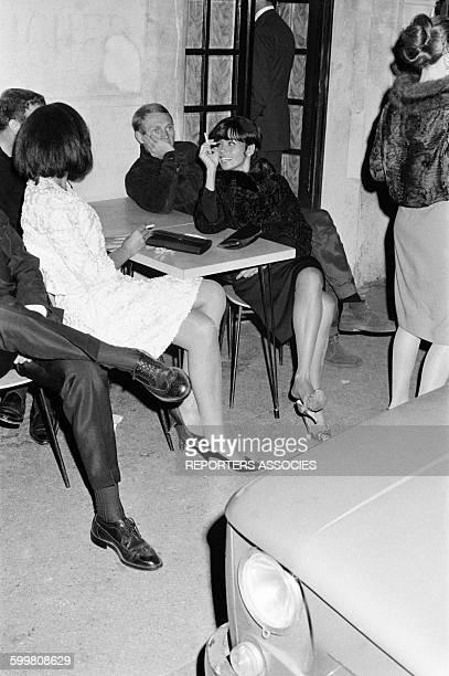 Actor Steve McQueen In Paris With Wife Neile Adams in Paris France on September 17 1964