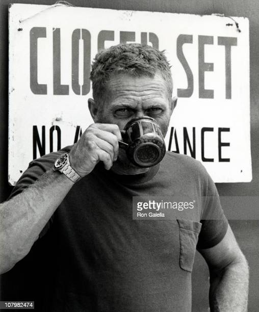 Actor Steve McQueen sighted on location filming 'Papillon' on April 15 1973 in Montego Bay Jamaica