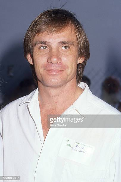 Actor Steve Railsback attends Alpo's 11th Bi-Annual Actors and Others for Animals Celebrity Fair on August 30, 1987 at Burbank Studio Ranch in...