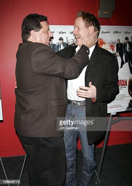 Actor Steve Schirripa and Director Jonathan Hensleigh attend the premiere of 'Kill the Irishman' at Landmark's Sunshine Cinema on March 7 2011 in New...