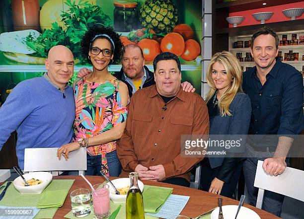 THE CHEW Actor Steve Schirripa appears today Thursday January 24 2013 on The Chew The Chew also welcomes master pastry chef Jacques Torres The Chew...