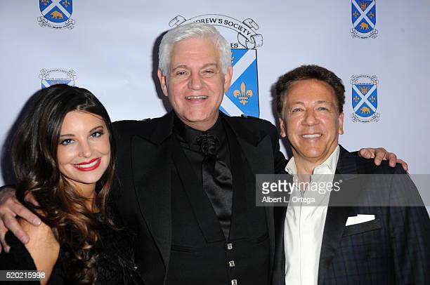 Actor Steve Tom and broadcaster Ross King at the Los Angeles Tartan Day Gala Celebration hosted by St Andrew's Society held at The Intercontinental...