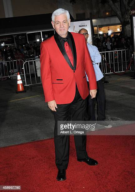 Actor Steve Tom arrives for the Premiere Of Universal Pictures And Red Granite Pictures' 'Dumb And Dumber To' held at the Regency Village Theater on...