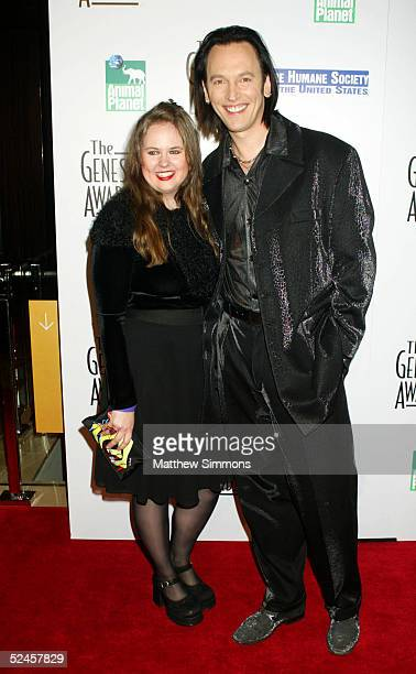 Actor Steve Valentine and his wife Shari attend the 19th Annual Genesis Awards Presented by The Humane Society at the Beverly Hilton Hotel on March...