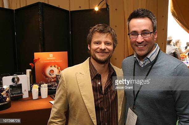 Actor Steve Zahn at the On3 Productions Lounge at Film Independent's 2008 Independent Spirit Awards at the Santa Monica Pier on February 23, 2008 in...