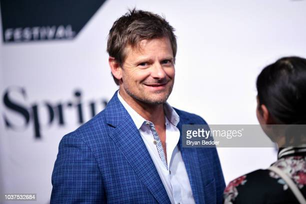 """Actor Steve Zahn is interviewed during the premiere of National Geographic's """"Valley of The Boom"""" at Tribeca TV Festival on September 21, 2018 in New..."""