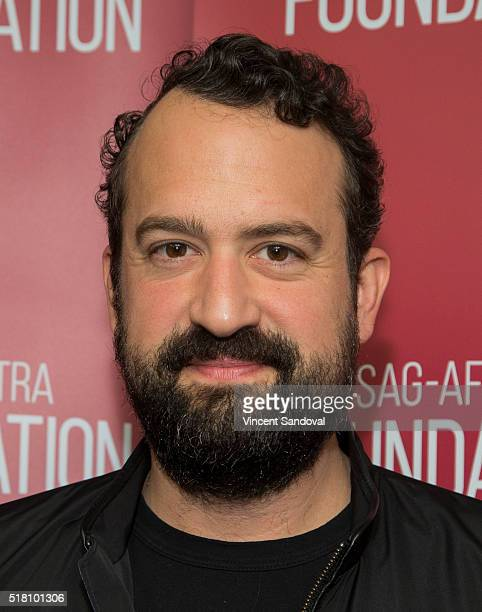"""Actor Steve Zissis attends SAG-AFTRA Foundation Conversations with Steve Zissis for """"Togetherness"""" at SAG-AFTRA Foundation on March 29, 2016 in Los..."""