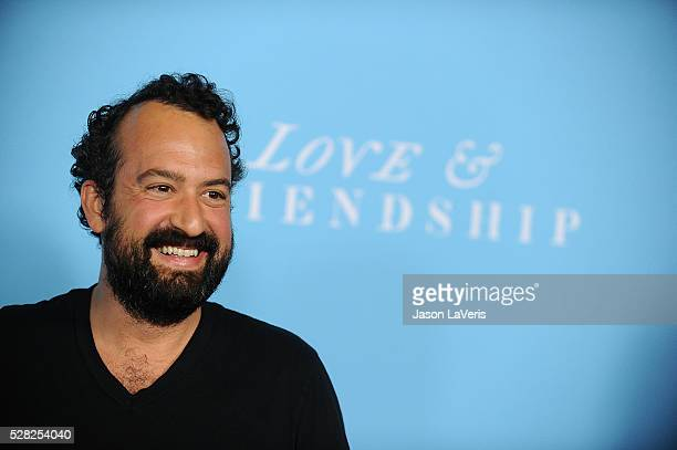 """Actor Steve Zissis attends the premiere of """"Love and Friendship"""" at Directors Guild Of America on May 3, 2016 in Los Angeles, California."""