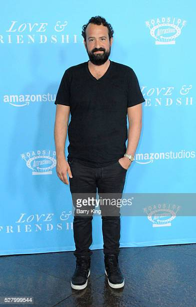 Actor Steve Zissis attends the premiere of Roadside Attractions' 'Love And Friendship' at Directors Guild of America on May 3, 2016 in Los Angeles,...