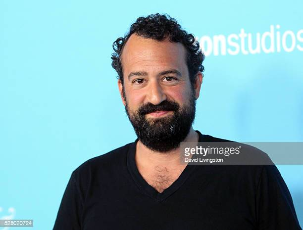 """Actor Steve Zissis attends the premiere of Roadside Attractions' """"Love & Friendship"""" at the Directors Guild of America on May 3, 2016 in Los Angeles,..."""
