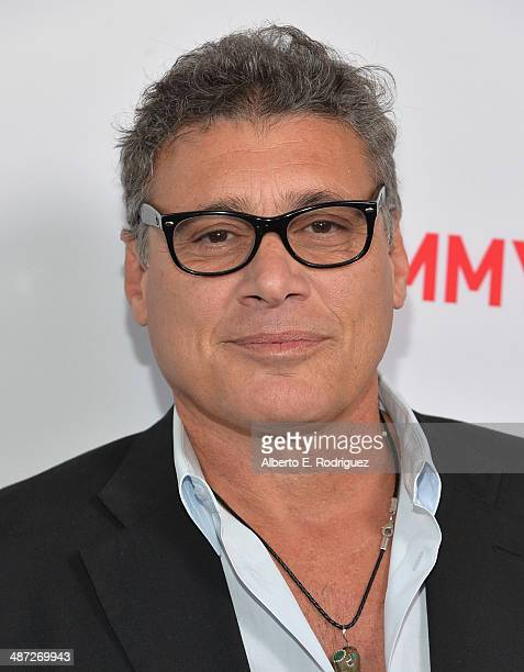 Actor Steven Bauer arrive to an exclusive conversation with the cast of Showtime's Ray Donovan at Leonard H Goldenson Theatre on April 28 2014 in...
