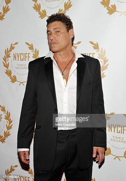 Actor Steven Bauer attends the 2011 New York International Film Festival opening night gala premiere of The Last Gamble at The Hudson Theatre on...