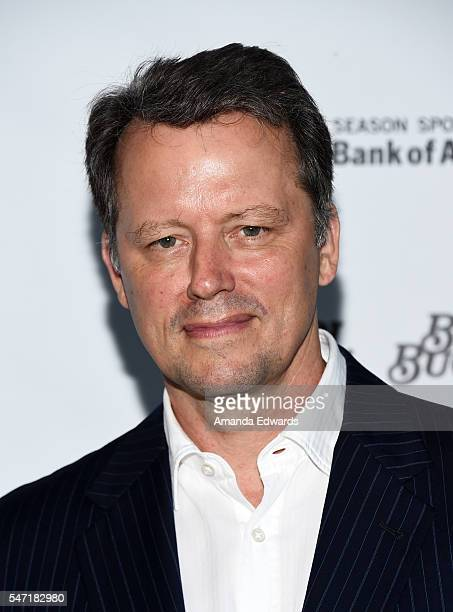 Actor Steven Culp arrives at the opening night of 'Grey Gardens' The Musical at the Ahmanson Theatre on July 13 2016 in Los Angeles California