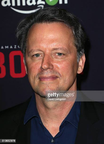 Actor Steven Culp attends the premiere of Amazon's 'Bosch' Season 2 at SilverScreen Theater at the Pacific Design Center on March 3 2016 in West...