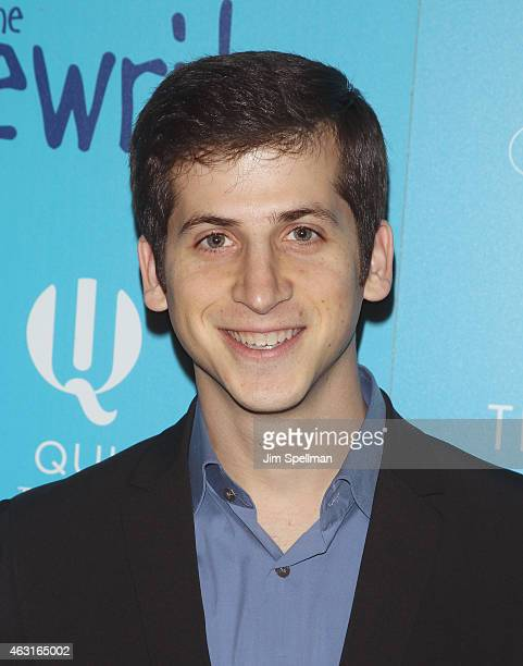 """Actor Steven Kaplan attends The Cinema Society and Brooks Brothers host a screening of """"The Rewrite"""" at Landmark's Sunshine Cinema on February 10,..."""
