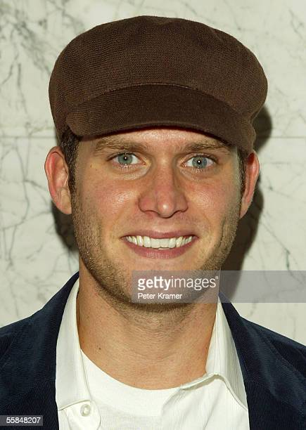 Actor Steven Pasquale attends Gotham magazine's party to celebrate the October men's fashion issue October 3 2005 in New York City