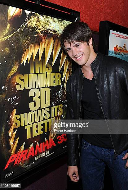 Actor Steven R McQueen arrives at the premiere of The Weinstein Company 'Piranha 3D' at the Mann's Chinese 6 Theatre on August 18 2010 in Hollywood...