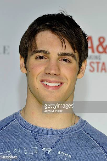 Actor Steven R McQueen attends the Abercrombie Fitch 'The Making of a Star' Spring Campaign Party at Siren Studios on February 22 2014 in Hollywood...