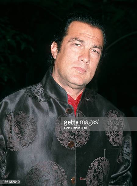 Actor Steven Seagal attending 25th Annual Clive Davis PreGrammy Party on February 22 2000 at the Beverly Hills Hotel in Beverly Hills California