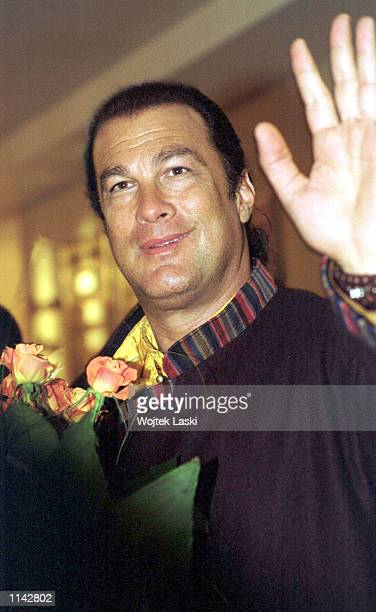 Actor Steven Seagal, shown in this January 25, 2002 photo, is being sued by his former business partner for $60 million for backing out of an...